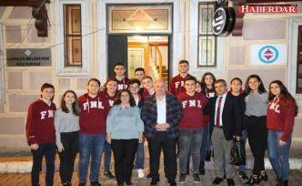 """Çatalca'da """"Gençler Başkanla Buluşuyor"""" Projesi  Tüm Hızıyla Devam Ediyor"""
