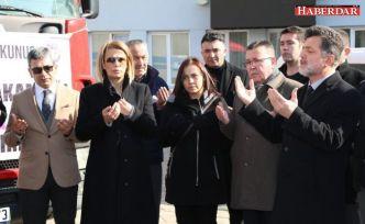 Elazığ'a Sıcak Dokunuş Yardım Tırı Çatalca'dan Yola Çıktı
