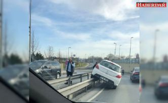 Avcılar'da ilginç kaza