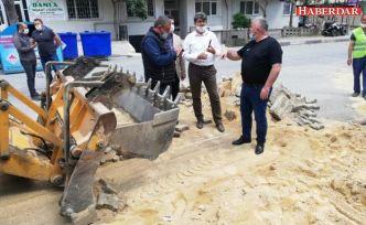 Başkan Mesut Üner, yapım ve onarım çalışmalarını denetledi