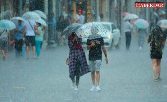 İstanbul'da yağış için saat verildi