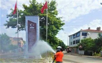 Başkan Mesut Üner'in Başlattığı Dezenfekte Seferberliği Devam Ediyor