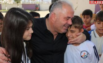Başkan Üner'den okullara ziyaret