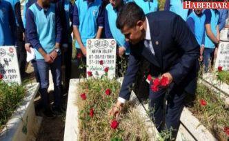 Depreminin 8. yıl dönümünde Erciş'te anma töreni