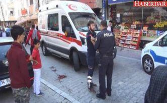 Esenyurt'ta sokak ortasında silahlı saldırı