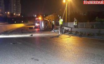 Küçükçekmece'de feci kaza: 1 ölü, 5 yaralı