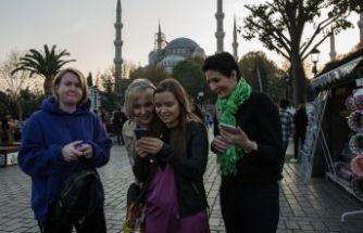 İstanbul'da turist bereketi