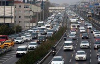 Okullar açıldı, İstanbul'da trafik yoğunluğu yaşandı!