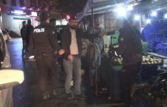 Esenyurt'ta hareketli anlar, polis elinde silah olan şüpheliyi böyle vurdu