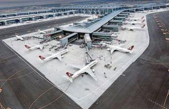 İstanbul havalimanlarından 11 ayda 96 milyon yolcu seyahat etti