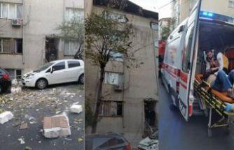 Şişli'de bir binada çökme