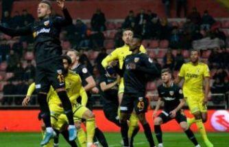 Fenerbahçe Kayserispor deplasmanında turu 'Kadıköy'e bıraktı