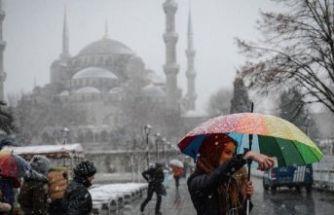 İstanbul'a kar geliyor