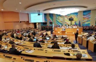 Akgün, Avrupa Konseyi Yerel ve Bölgesel Yönetimler Kongresi'ne katıldı