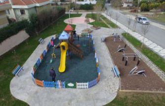 Büyükçekmece'deki çocuk oyun parklarına yenileri ekleniyor
