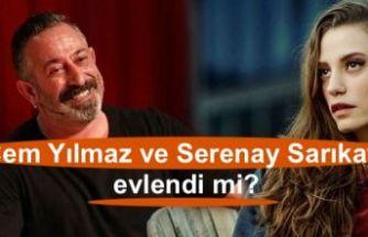 Cem Yılmaz ve Serenay Sarıkaya evlendi mi?