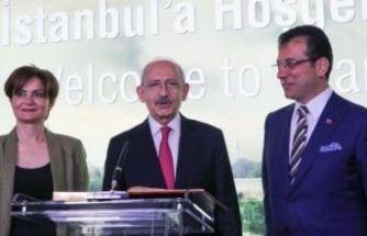 Kılıçdaroğlu ve İmamoğlu CHP İstanbul İl Kongresi'ne katılıyor