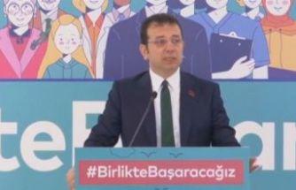 İmamoğlu koronavirüs önlemlerini açıkladı: İstanbul Yardımlaşma ve Koordinasyon Merkezi kuruldu