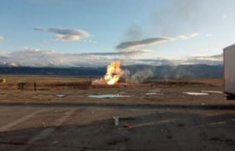 İran- Türkiye doğalgaz boru hattında patlama