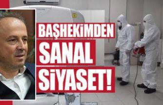 Avcılar Murat Kölük Devlet Hastanesi Başhekimi İbrahim Ulusoy'dan sanal siyaset