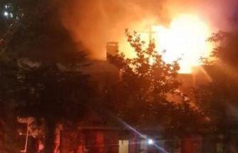 Çatalca'da korkunç yangın