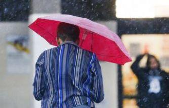 Meteoroloji uyardı: İstanbul'da sağanak ve fırtına