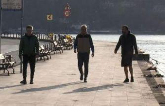Türkiye'nin en eğitimli ilçesinde karantina manzarası! Sabah yürüyüşüne çıktılar