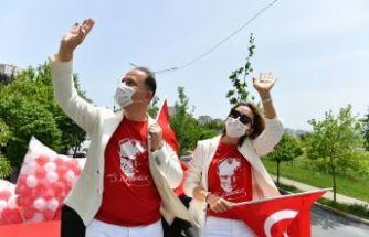 19 MAYIS, BEYLİKDÜZÜ'NDE COŞKUYLA KUTLANDI