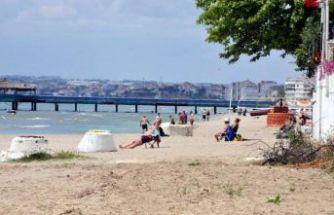 Kumburgaz'da vatandaşlar sokağa çıkma yasağını yok saydı