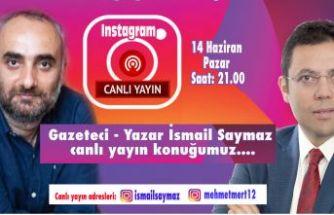 İsmail Saymaz canlı yayında Mehmet Mert'in konuğu