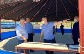 Çatalca'nın Kurban Satış ve Kesim Alanları Bayrama Hazır