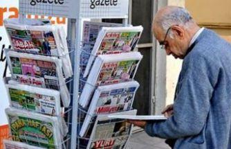 Gazete ve dergi tirajları erimeye devam ediyor