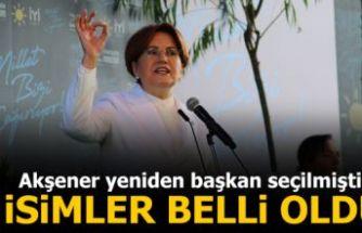 İYİ Parti'de GİK ve MDK üyeleri belli oldu