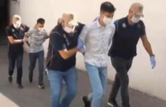 Küçükçekmece'de ses bombası atan şüpheliler tutuklandı