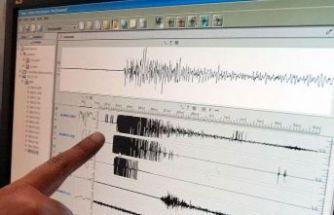 Sabaha karşı Ege Denizi'nde deprem