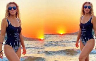 Ziynet Sali'den tatil pozları