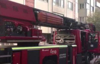 Avcılar'da mobilya atölyesinde korkutan yangın