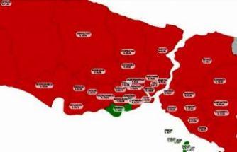 İstanbul'daki vaka sayıları ne durumda? İşte en çok artış olan 8 ilçe