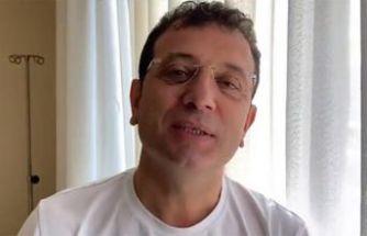 Koronavirüse yakalanan Ekrem İmamoğlu'ndan flaş açıklama: Sağlık durumu nasıl?
