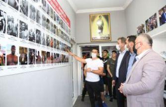 Başkan Mesut Üner'den Çatalca'ya Büyük Güreş Yatırımı