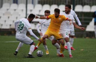 Çatalcaspor üç puanı aldı 1-0