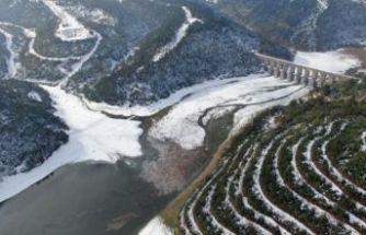 İstanbul'da karlar eriyor, barajlardaki doluluk yükseliyor
