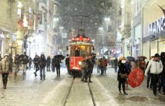 Kar yağışı İstanbul'a geri dönüyor