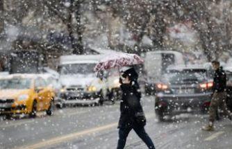 Meteoroloji, İstanbul için kar tahminini değiştirdi