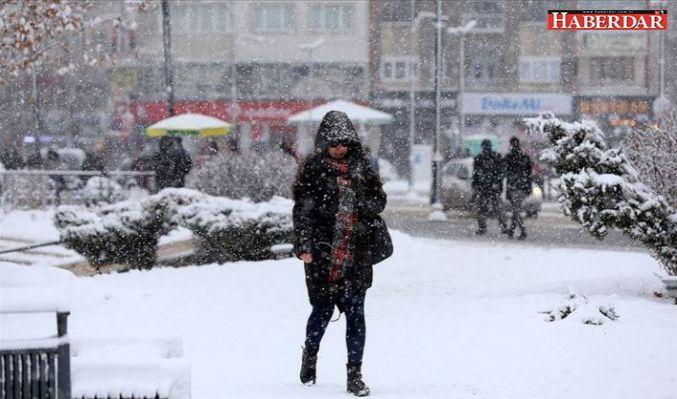 Meteoroloji'den çok sayıda il için kar uyarısı