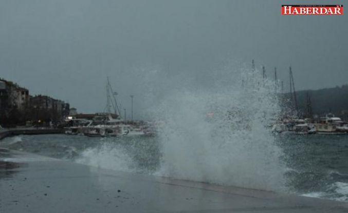 Meteoroloji'den yağış ve kuvvetli rüzgâr uyarısı
