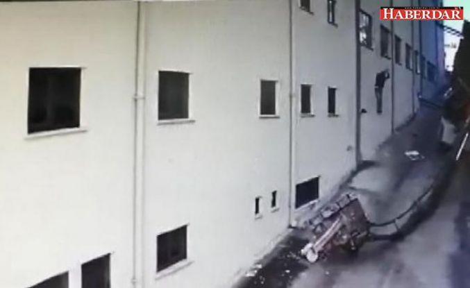Vinç devrildi, çatı kenarında asılı kalan işçi düşerek can verdi