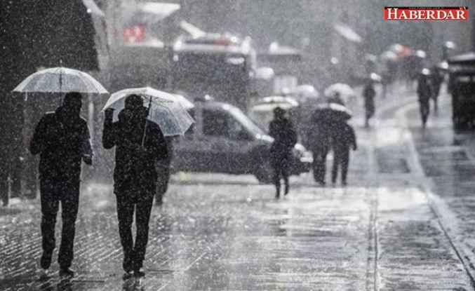 Meteoroloji'den bir çok il için yağış uyarısı