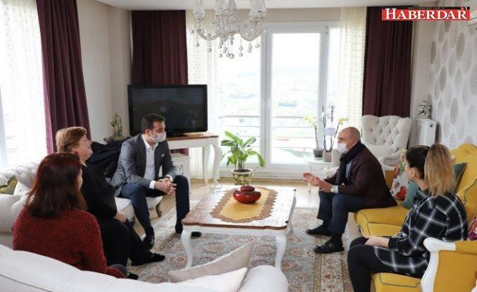 İmamoğlu ve Akgün'den Sekban ailesine başsağlığı ziyareti
