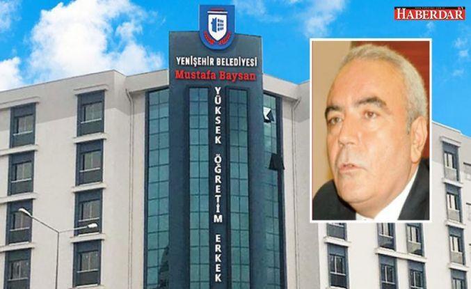 Hayırsever iş insanı Mustafa Baysan,  582 kişilik erkek öğrenci yurdu yaptırdı